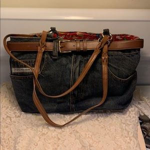 Handmade US Polo Purse Pre Owned